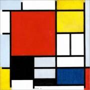 poster-komposition-mit-rot-gelb-blau-und-schwarz-1377179